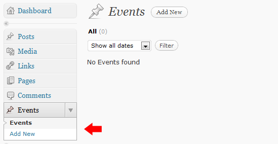 WordPress自定义post type 内容类型的简单教程