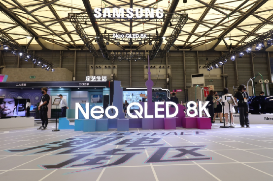 电游尖峰,高端之选,三星Neo QLED系列是潮电之王